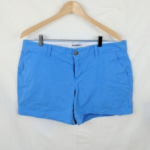 Old Navy Blue Chino Shorts